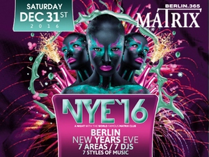 Matrix Club Berlin - Silvester 2016