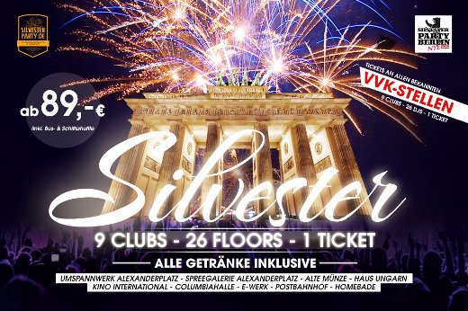 Silvester Ticket Berlin 2015/2016