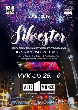 Berlins Größte Silvesterparty Am Alexanderplatz Silvester In Berlin