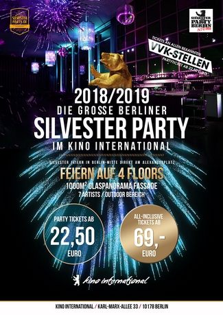 Silvesterparty im Kino International